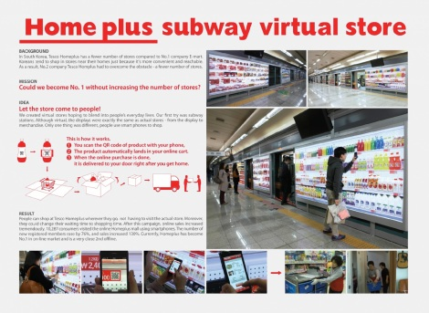 tesco Subway virtual store