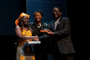 She also won the Telkom-Highway Africa new media awards 2012 in South Africa